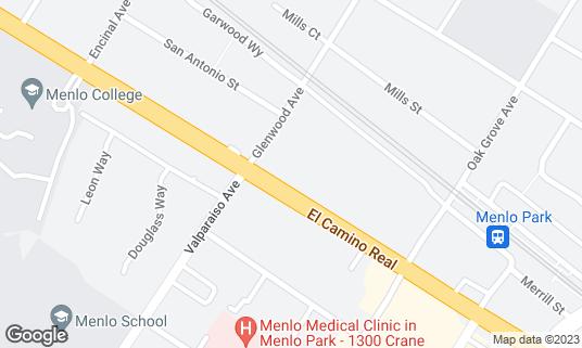 Map of Fey at 1368 El Camino Real Menlo Park, CA