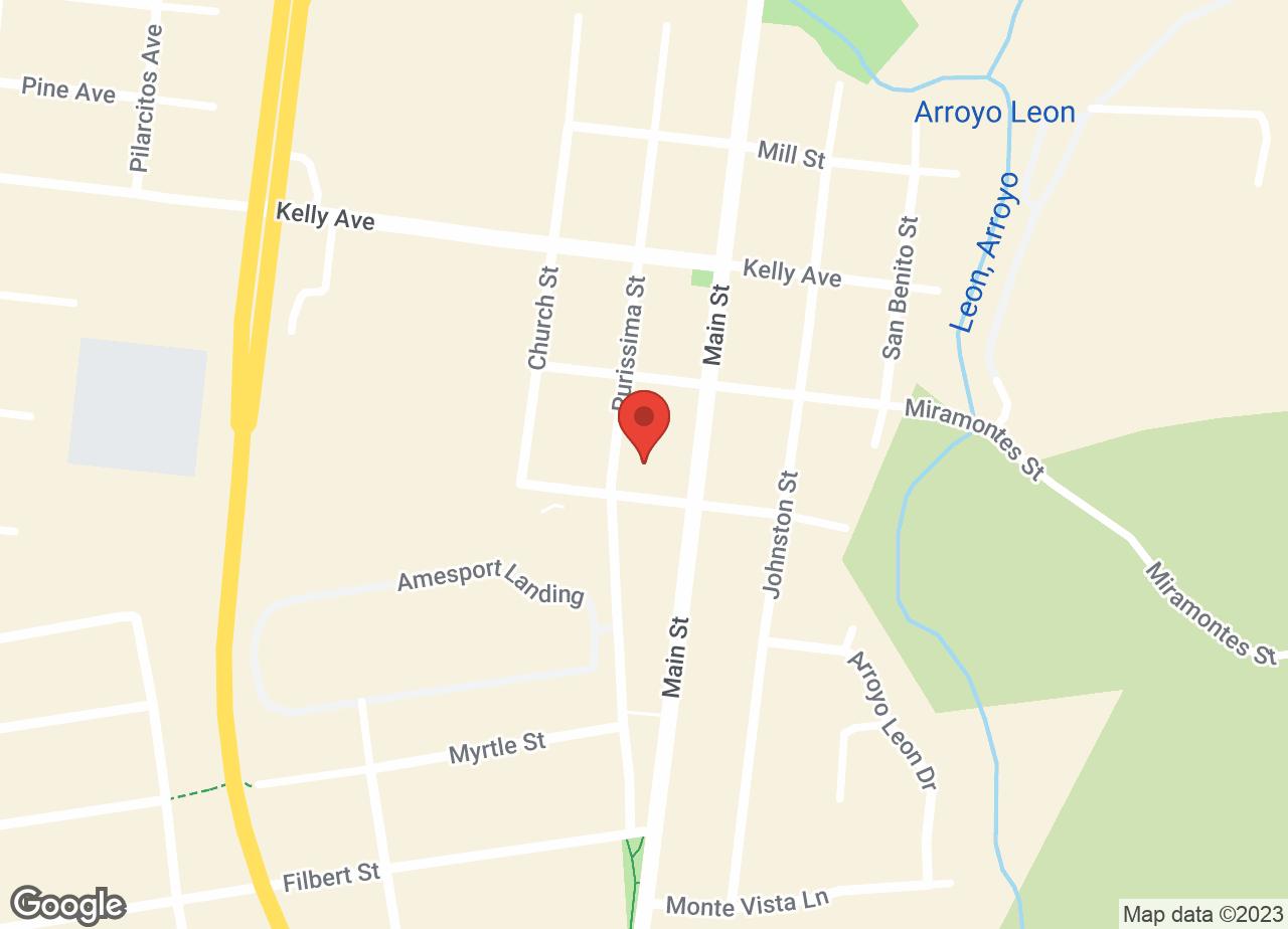 Google Map of VCA Half Moon Bay Animal Hospital
