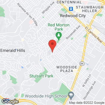 Map of Rite Aid at 2150 Roosevelt Avenue, Redwood City, CA 94061