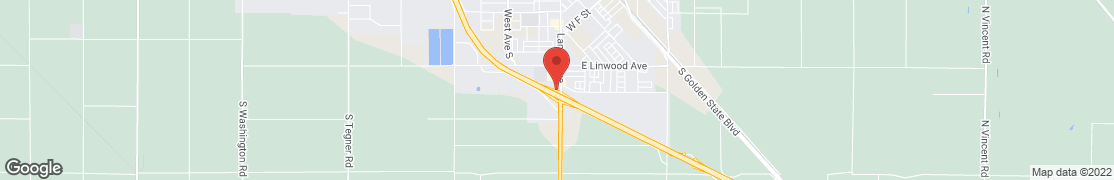 Map of 1991 Lander Ave in Turlock