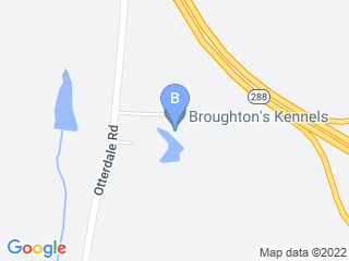 Map of Broughtons Boarding Kennels Dog Boarding options in Midlothian | Boarding