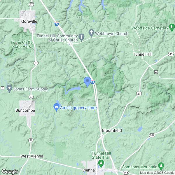 Shawnee National Forest, Herod, IL, USA