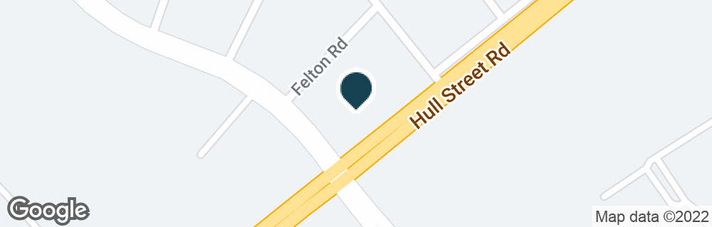 Google Map of5122 HULL STREET RD