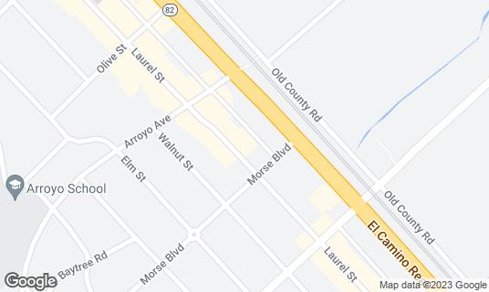 Map of Ale Arsenal at 971 Laurel St San Carlos, CA