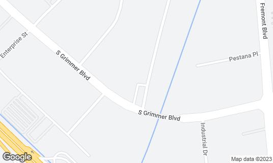 Map of DasBrew at 44356 S Grimmer Blvd Fremont, CA