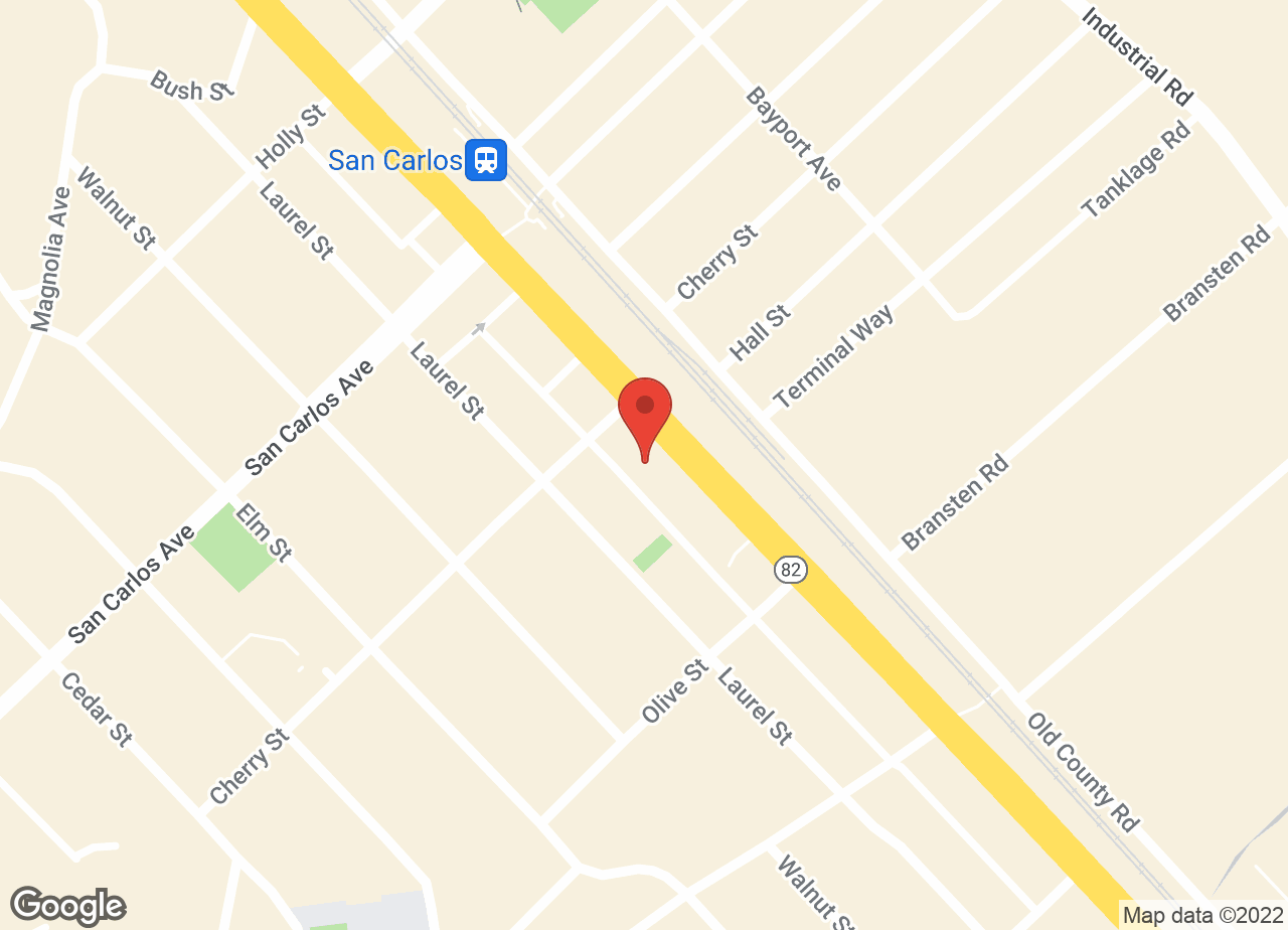 Google Map of VCA San Carlos Animal Hospital