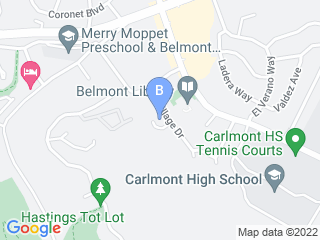 Map of Summerhill Pet Sitting Service Dog Boarding options in Belmont | Boarding