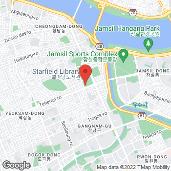 Map of Hyundai Coex - FRED Boutique at Hyundai Coex Department Store 2F, Seoul,  06164