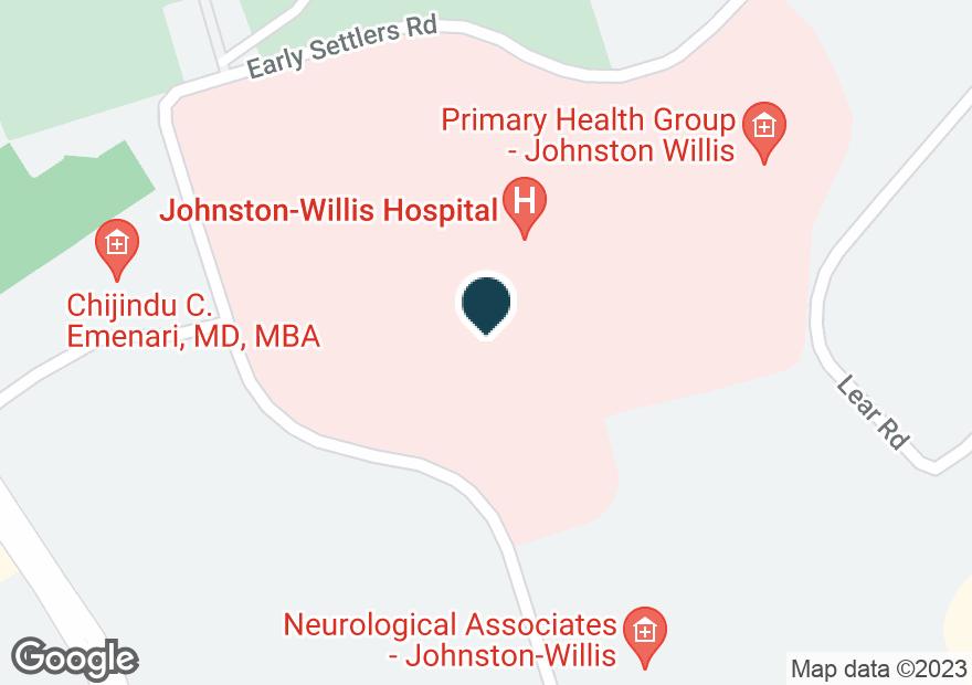 Google Map of1401 JOHNSTON WILLIS DR