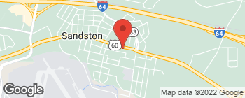 Map of 309 E Williamsbrg Rd in Sandston