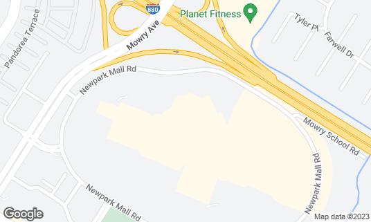 Map of AMC Newpark 12 at 400 Newpark Mall Newark, CA