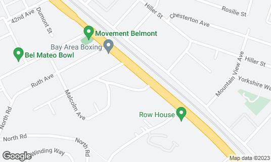Map of Shalizaar at 300 El Camino Real Belmont, CA