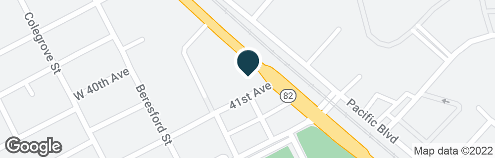 Google Map of4070 S EL CAMINO REAL