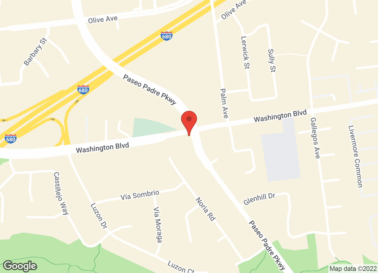 Google Map of VCA Mission San Jose Animal Hospital