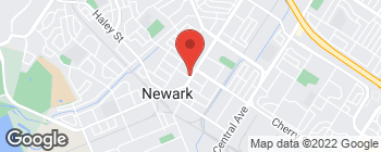 Map of 6657 Thornton Ave in Newark