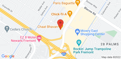 Directions to Chaat Bhavan—Fremont