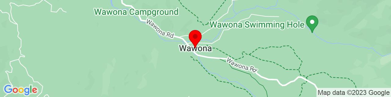Google Map of 37.5368803, -119.6562684