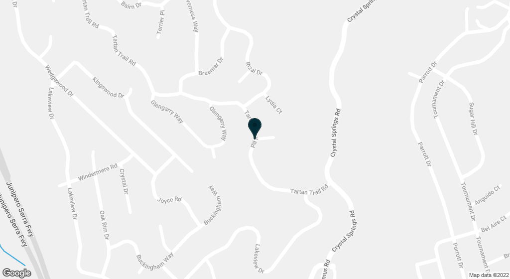 1245 Tartan Trail Hillsborough CA 94010