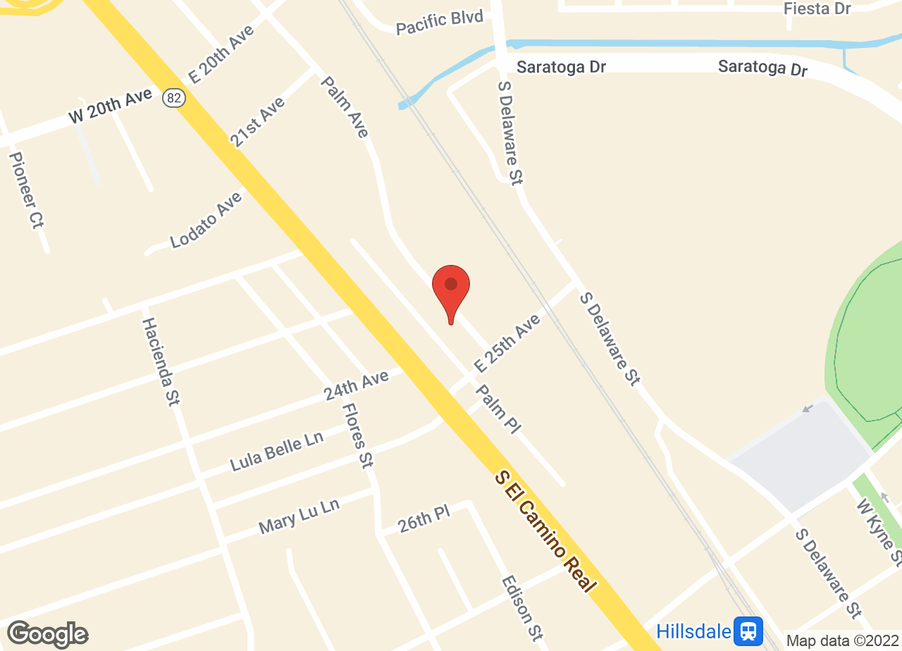 Google Map of VCA San Mateo Animal Hospital