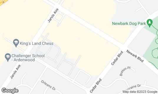 Map of Newark Buffet at 35201 Newark Blvd Newark, CA
