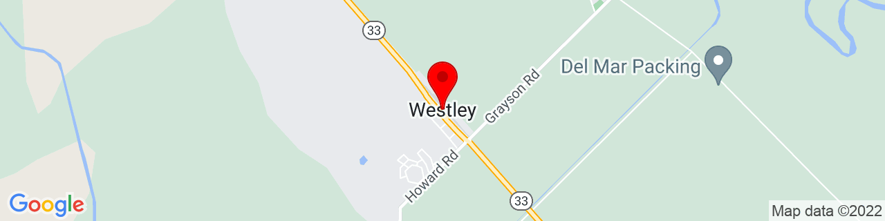 Google Map of 37.549376, -121.1991036