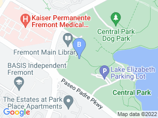 Map of The Animal Nanny   Pet Sitting Dog Boarding options in Fremont | Boarding