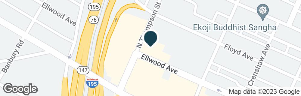 Google Map of3520 ELLWOOD AVE
