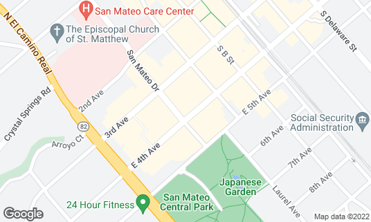 Map of Boiling Point 沸點 at 111 E 4th Ave San Mateo, CA