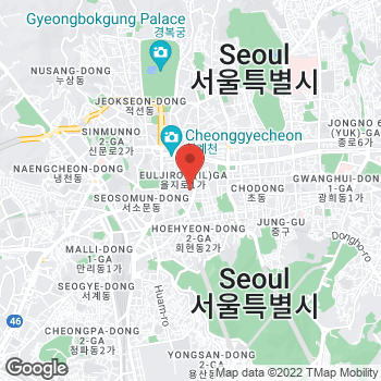 Map of FRED Seoul Lotte AvenueL FRED Boutique at Lotte Department Store Avenuel, 2F, Seoul,  04533