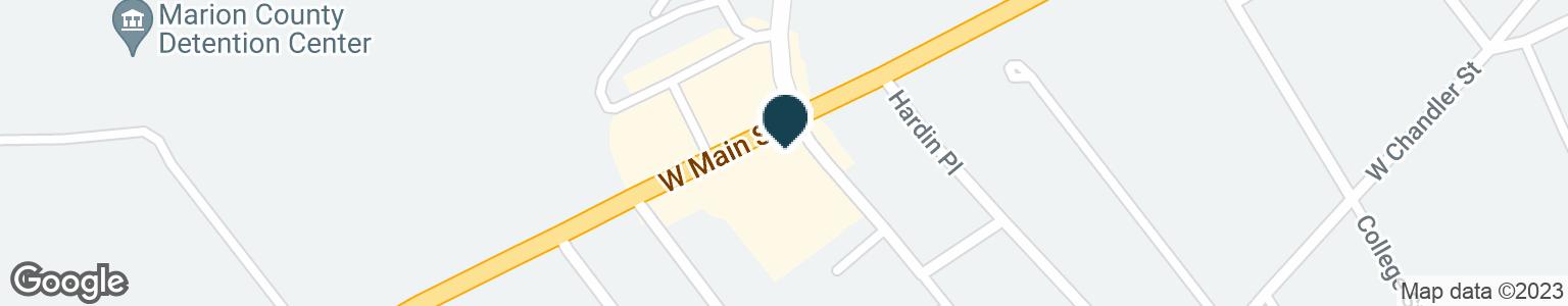 Google Map of512 W MAIN ST
