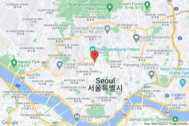 BASI Pilates Jongno Map