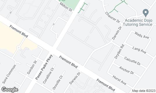 Map of 99 Ranch Market 大華超級市場 at 34444 Fremont Blvd Fremont, CA