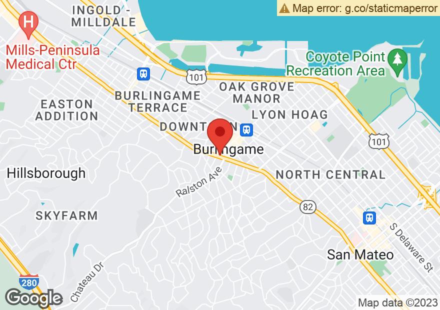 Google Map of 260 EL CAMINO REAL