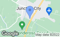 Map of Junction City, KY