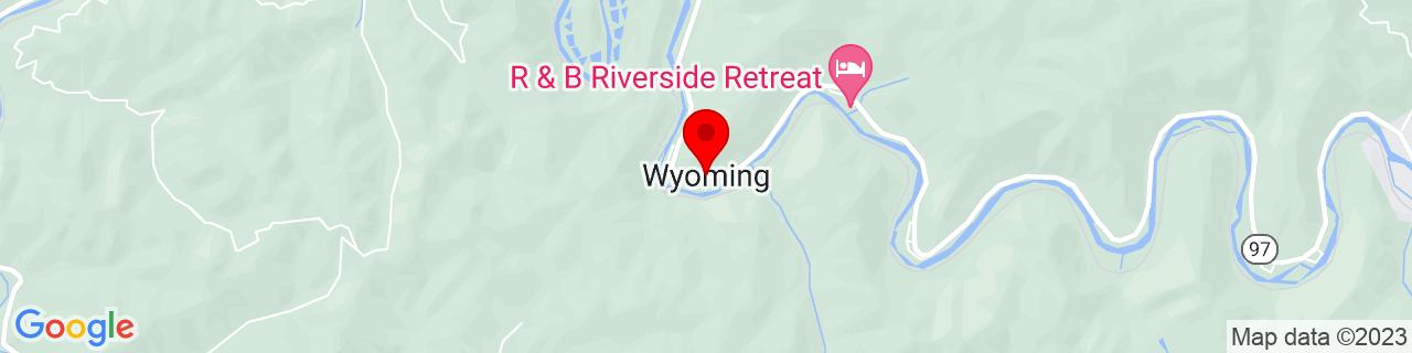 Google Map of 37.5823343, -81.6017745