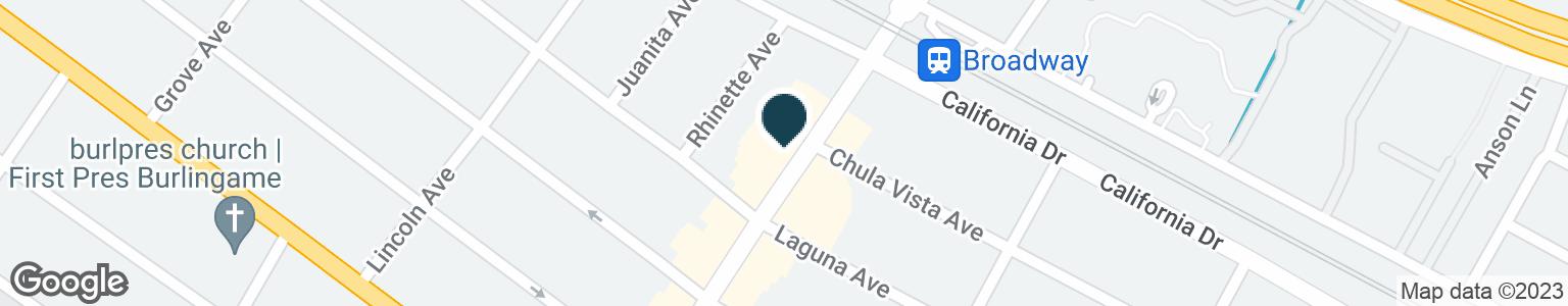 Google Map of1160 BROADWAY