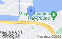 Map of San Mateo, CA