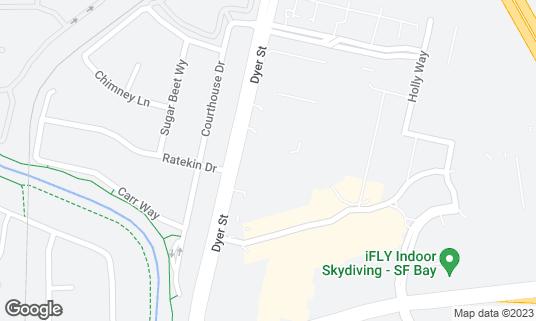 Map of TGI Fridays at 31900 Dyer St Union City, CA