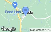 Map of Saluda, VA