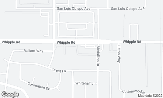 Map of Pepper Tree Lounge at 1848 Whipple Rd Union City, CA