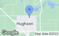 Map of Hughson, CA