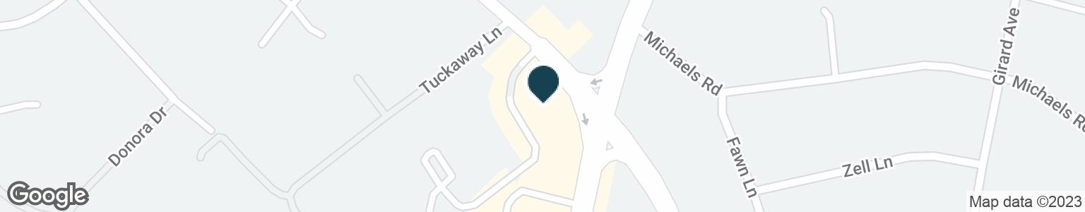 Google Map of1798 N PARHAM RD
