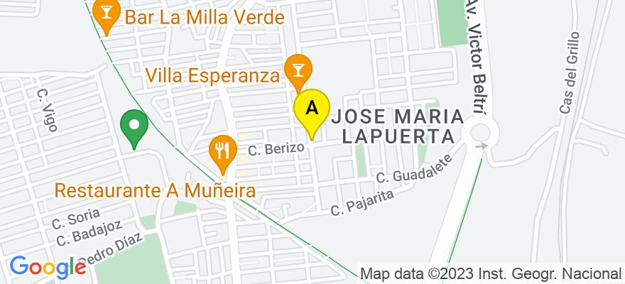 situacion en el mapa de . Direccion: c/ Mayor, 26, 3º b, 30201 Cartagena. Murcia