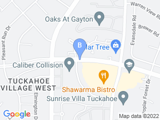 Map of Just For Paws Pet Spa Dog Boarding options in Henrico | Boarding