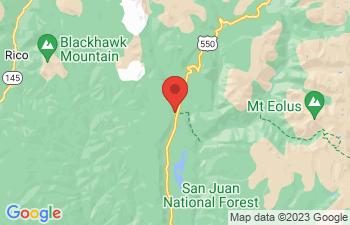 Map of Durango