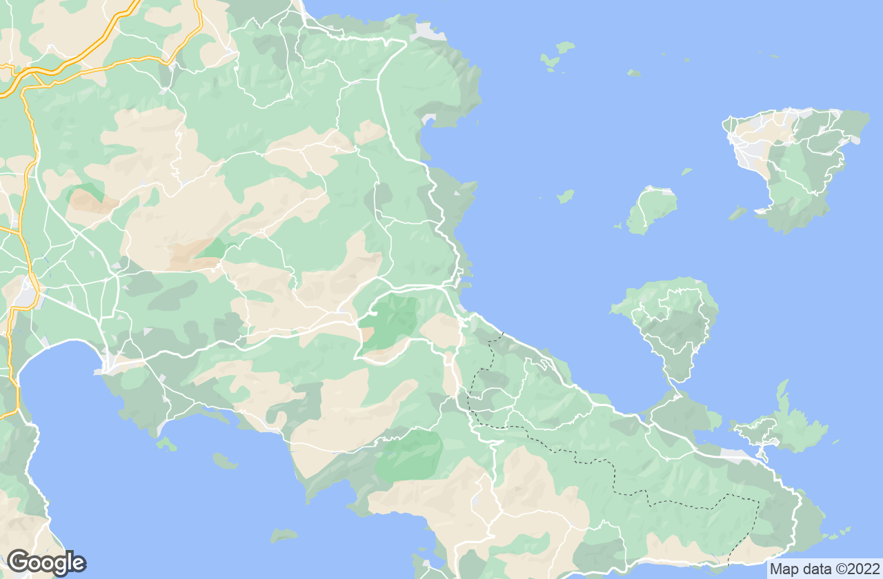 Google Map of إبيداوروس