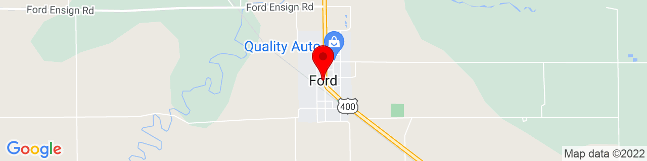 Google Map of 37.6361315, -99.754016