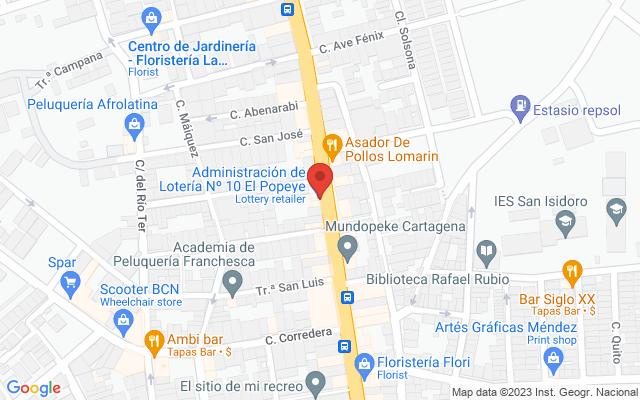 Administración nº10 de Los DOLORES(Cartagena)