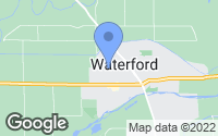 Map of Waterford, CA