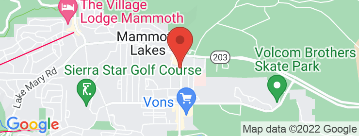 Map of Mammoth Smoke Shop